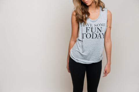 Muscle Tank - HSFT Grey