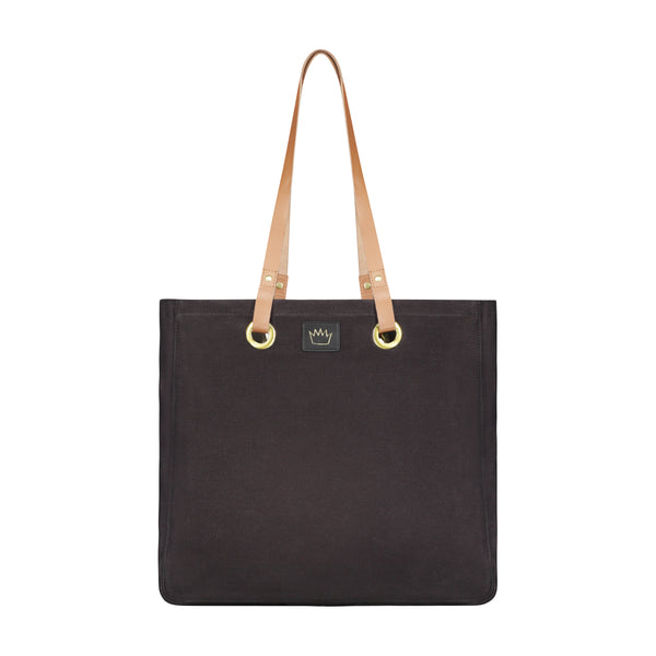 The Black Luxe Tote