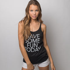 The Slouchy Tank - Black