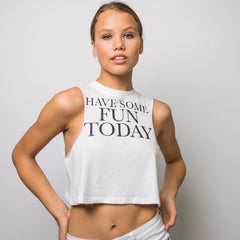 The Original Crop Tank - Serif Graphic