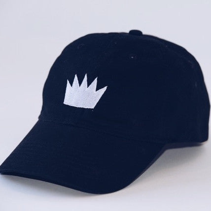 The Crown Baseball Hat - Black