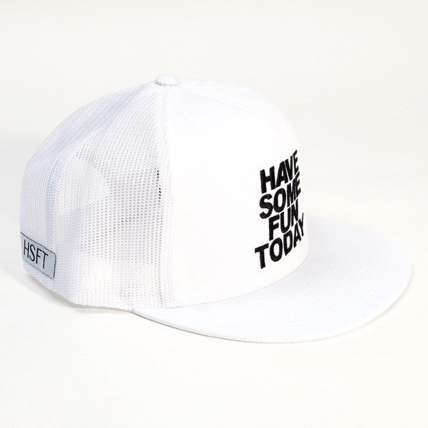The White Snap Back Hat