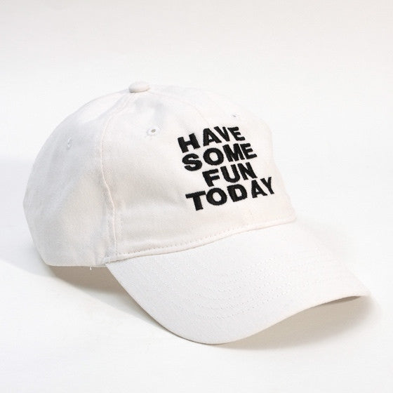 The Baseball Cap - White