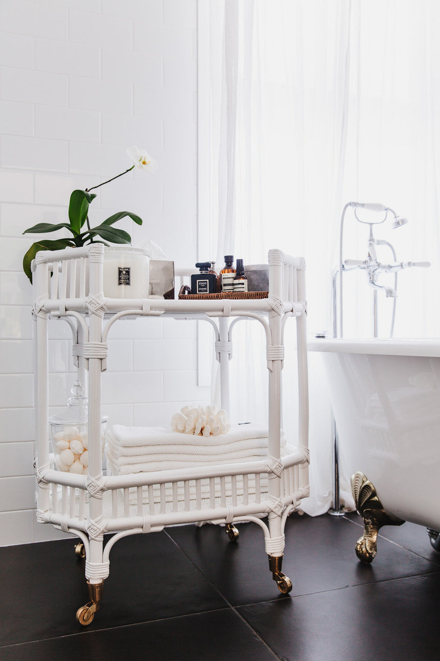 Byron Bay Bar Cart/Side Table (October)