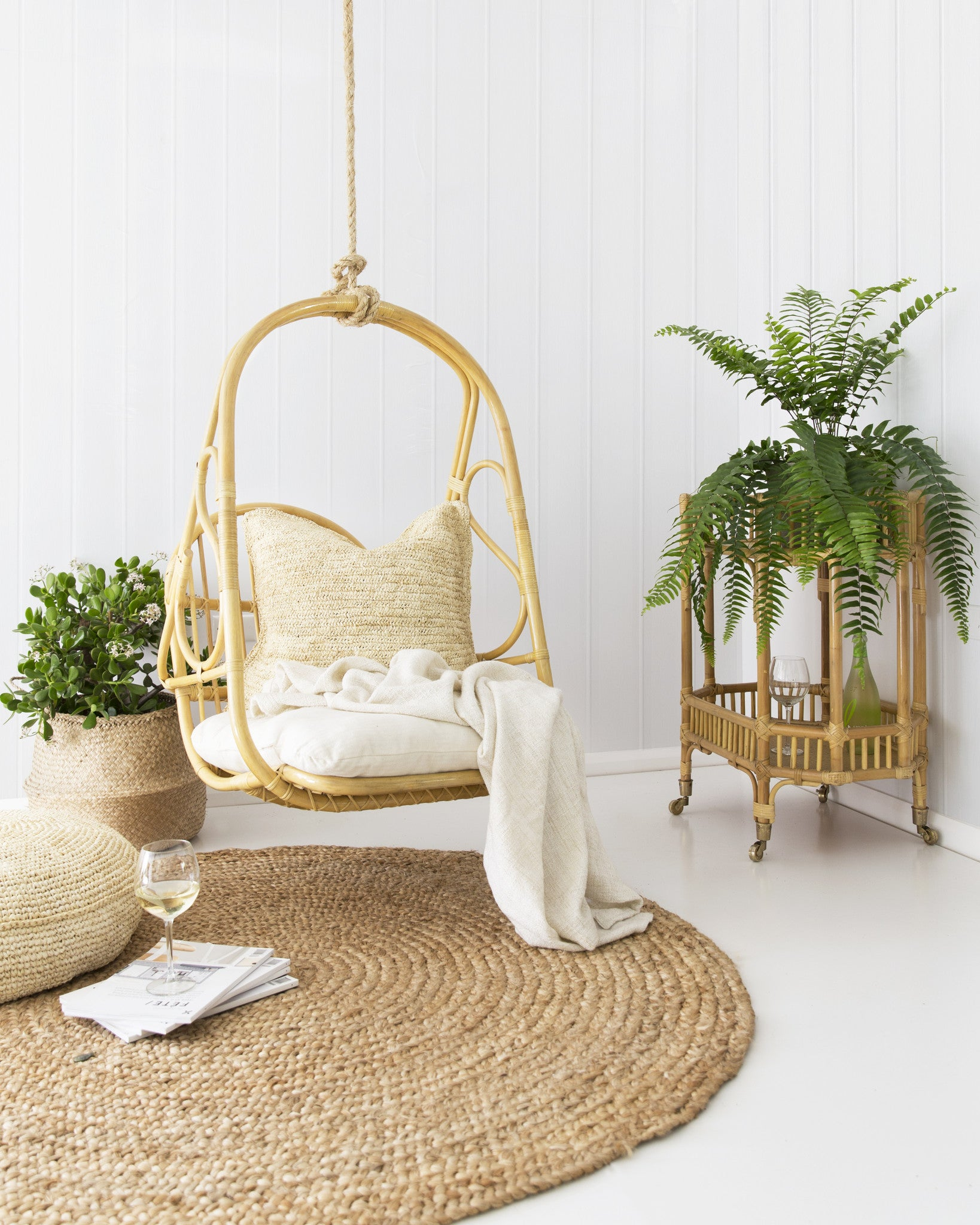 the rosie hanging chair november