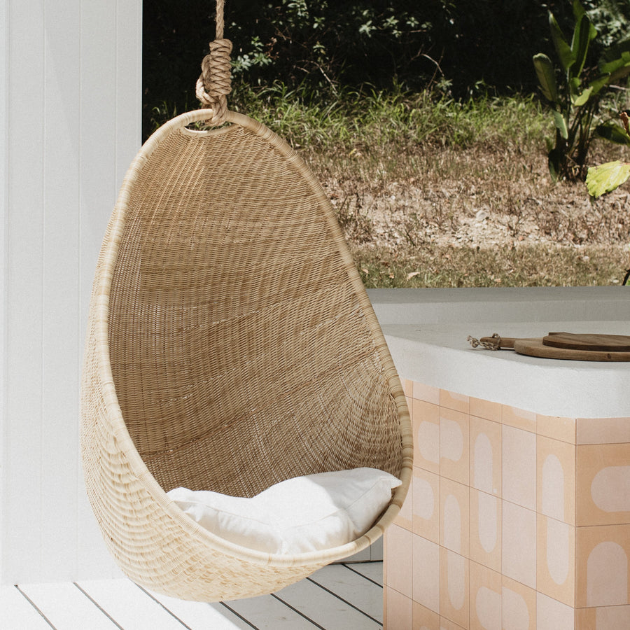 Harper Hanging Chair outdoor  (End April)