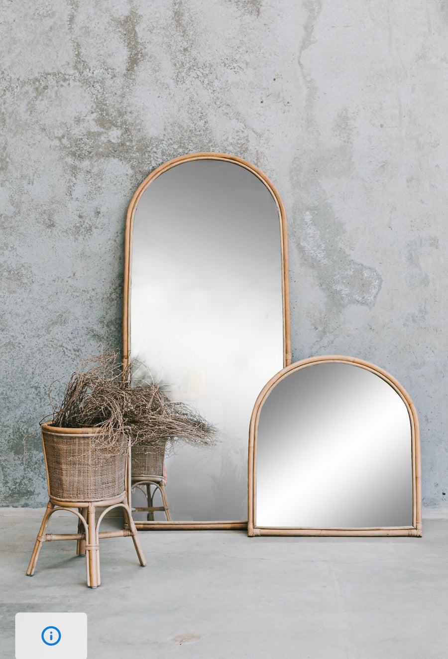 Arch Mirror Pre Order Dec Pick Up Only Byron Bay Hanging Chairs