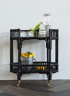 Byron Bay Bar Cart/Side Table (feb delivery)