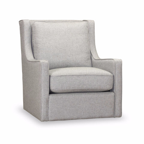 Calvin Swivel Chair - Stone