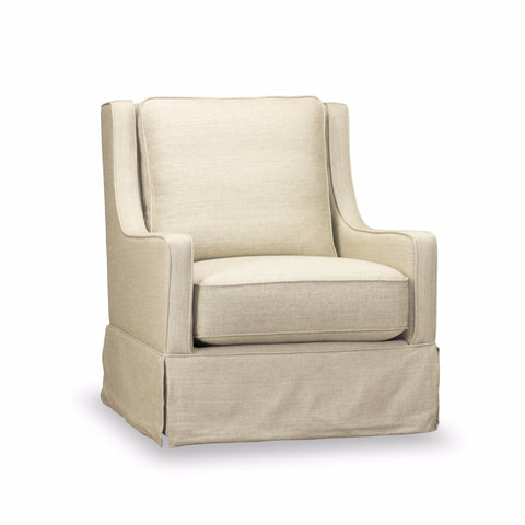 Kelly Swivel Chair - Linen