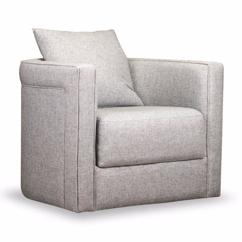 Adrian Swivel Chair - KW8670-3 Gray