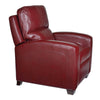 BRICE RECLINER - Harlee Dark Red