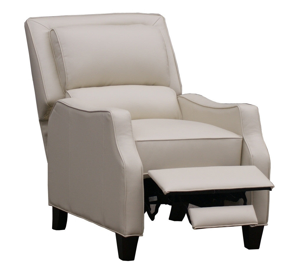 DUNCAN RECLINER - Emerson Creme Bonded Leather