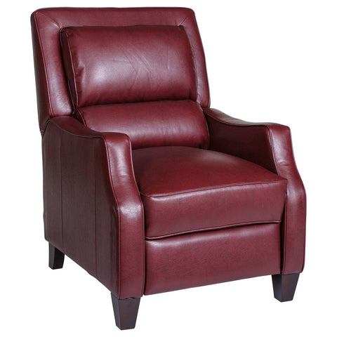 DUNCAN RECLINER - Harlee Dark Red