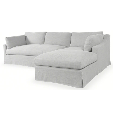 Dune Slip Covered Sectional