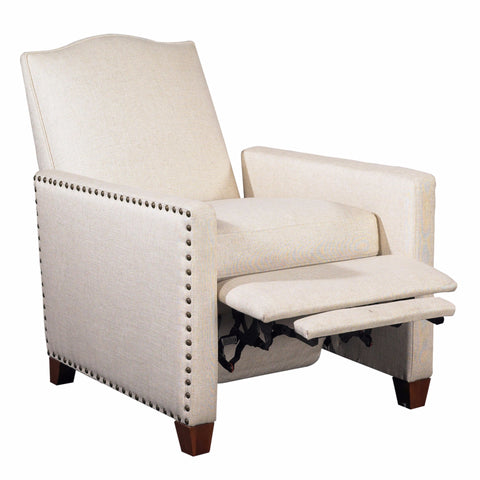 BROOKE RECLINER - Natural Ecru