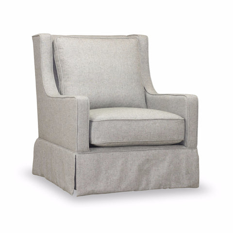 Kelly Swivel Chair - Stone