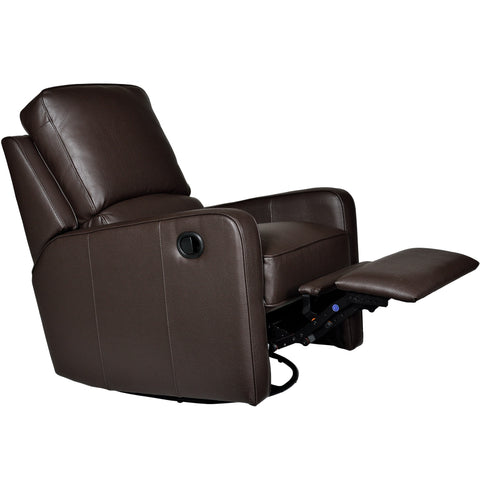 PERTH SWIVEL ROCKER RECLINER - Somerset Mocha