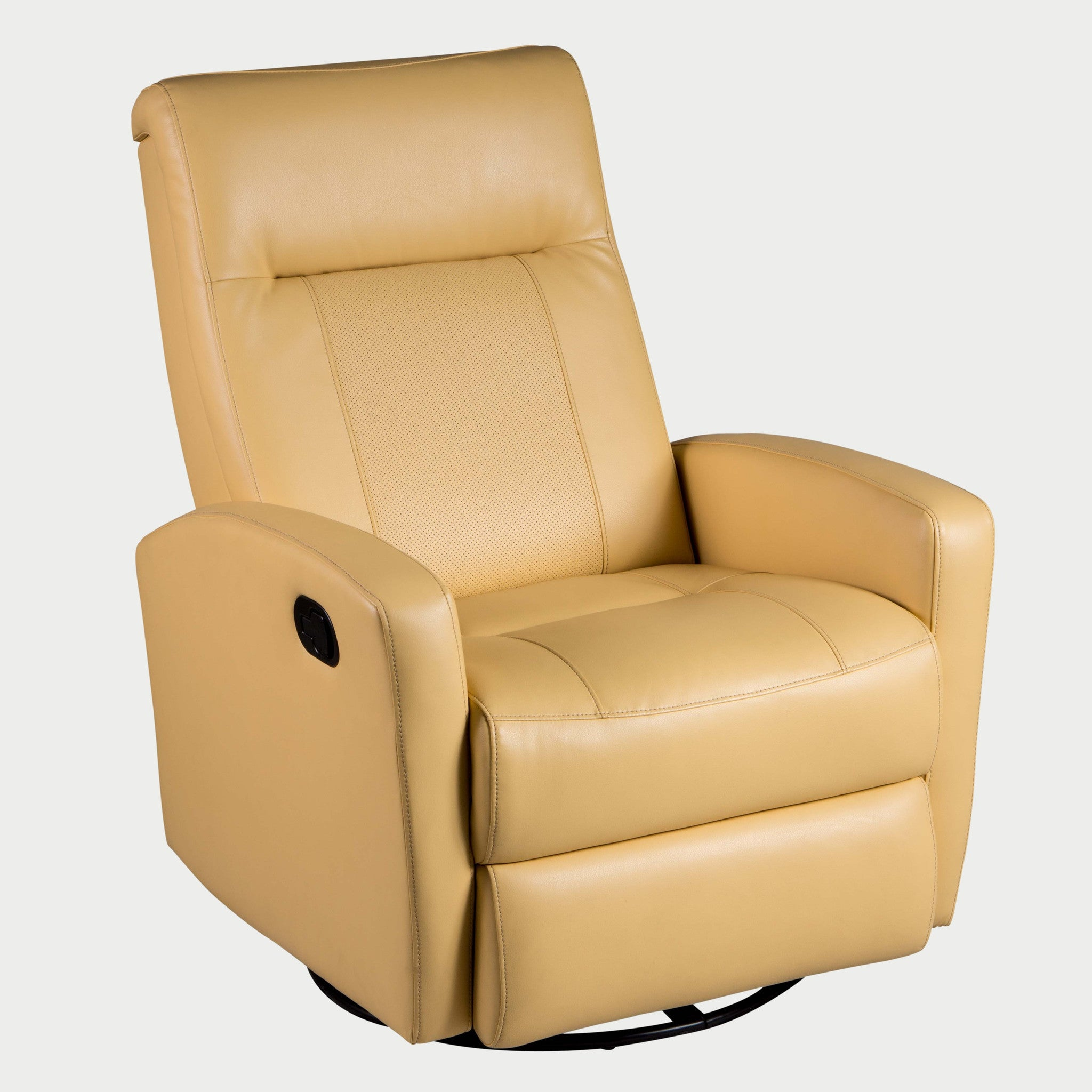 stefan swivel glider recliner diego yellow