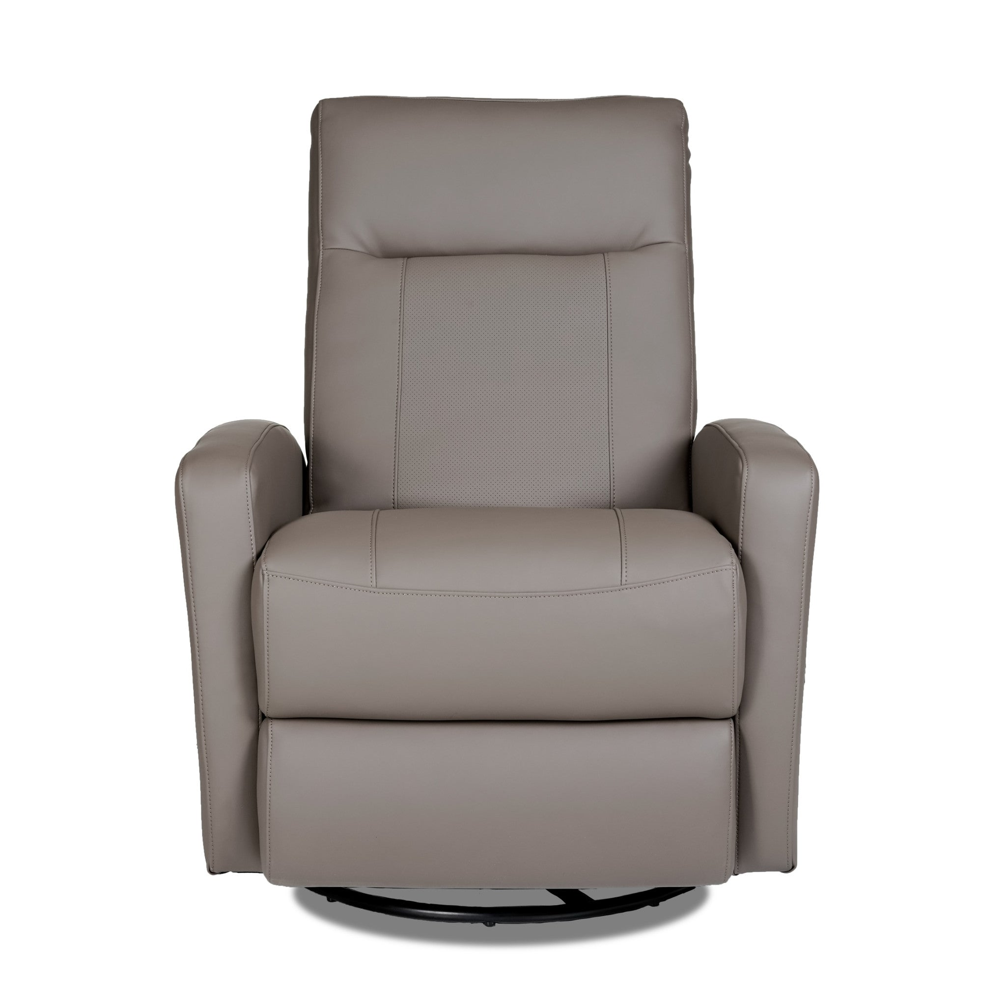 STEFAN SWIVEL GLIDER RECLINER - Samurai Quarry