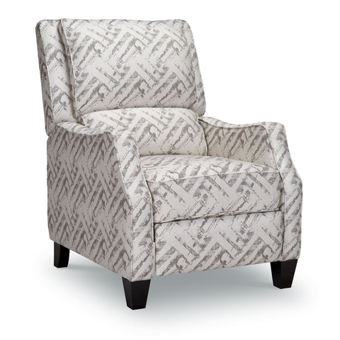 Opulence Home Timothy Recliner | Bridgeport Grey