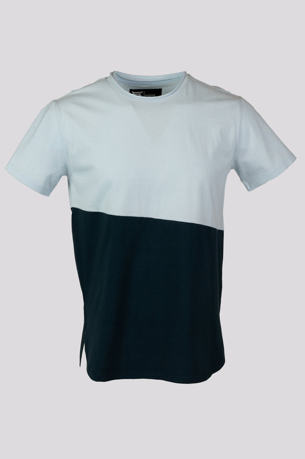 Bi Color Longline Tshirt