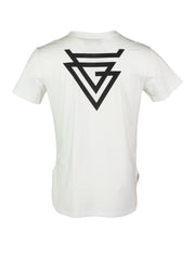 SUSTAINABLE CUT N' ROLL WHITE SR LOGO TEES