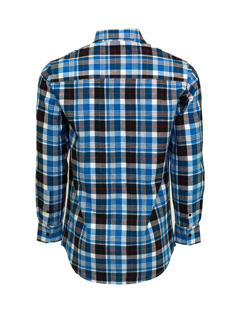 Classic Plaid Shirt - Blue