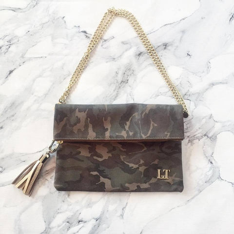 You Had Me at Camo Fold-over Bestie