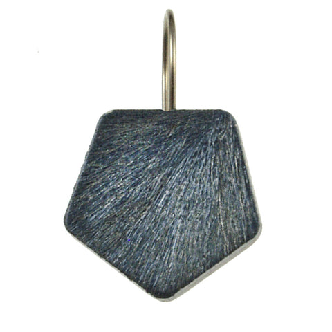 Textured Aluminum Earrings- Cashmere