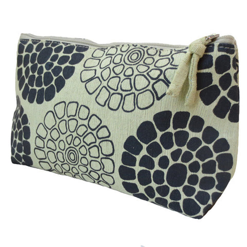 Silk Screen Printed Cosmetic Bag - KinShop Ethical Trading   - 2