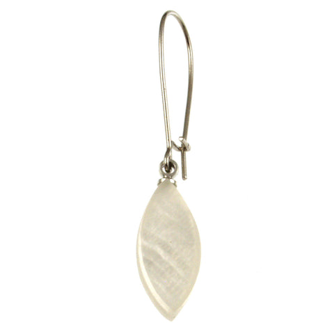 Petal Earrings- White
