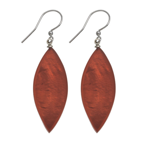 Leaf Earrings- Mango