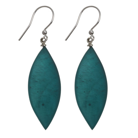 Leaf Earrings- Spruce