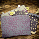 Silk Screen Printed Coin Purse - KinShop Ethical Trading   - 1