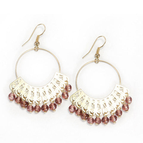 Golden Maharani Earrings - KinShop Ethical Trading