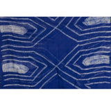 Blue Serge Gatsby Scarf - KinShop Ethical Trading   - 2
