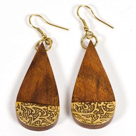 Earth and Fire Earrings - KinShop Ethical Trading