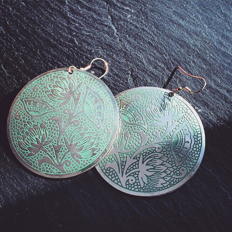 Padma Earrings - KinShop Ethical Trading   - 1