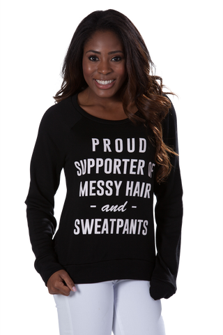 Proud Supporter Sweater - Black