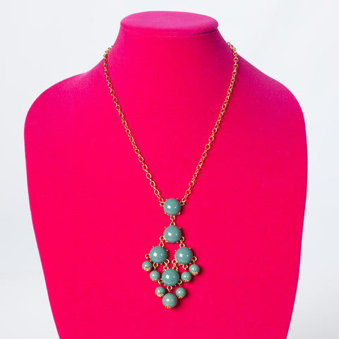 Long Necklace - Teal