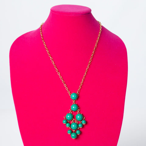 Long Necklace - Green