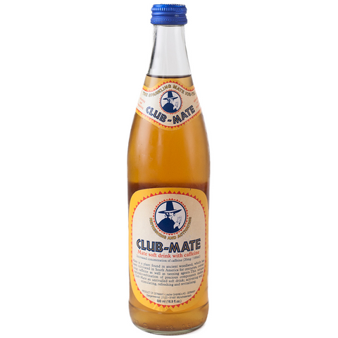 Club-Mate Original -  12 Pack (16.9 oz Glass Bottles)