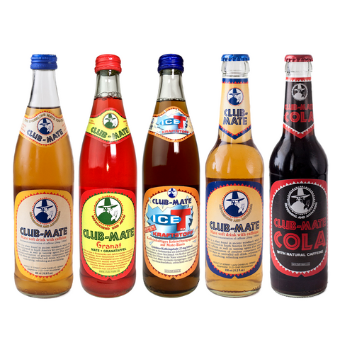 Club-Mate Sample Case (12 Glass bottles)