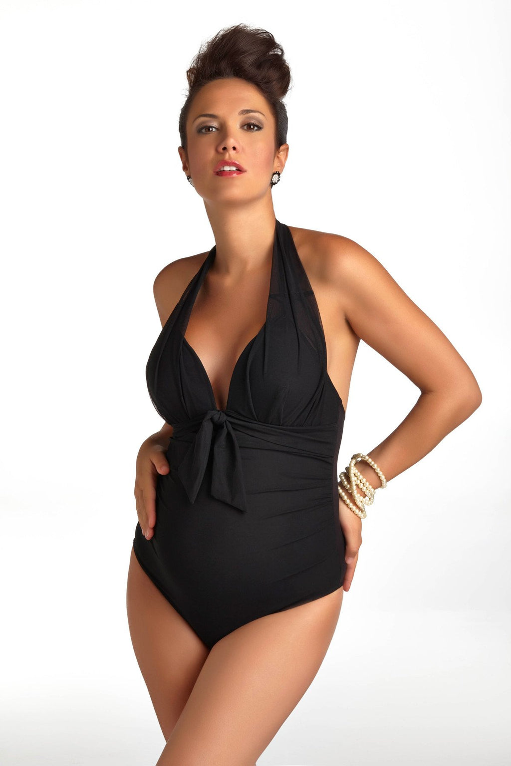 SANTORINI ONE PIECE MATERNITY SWIMSUIT