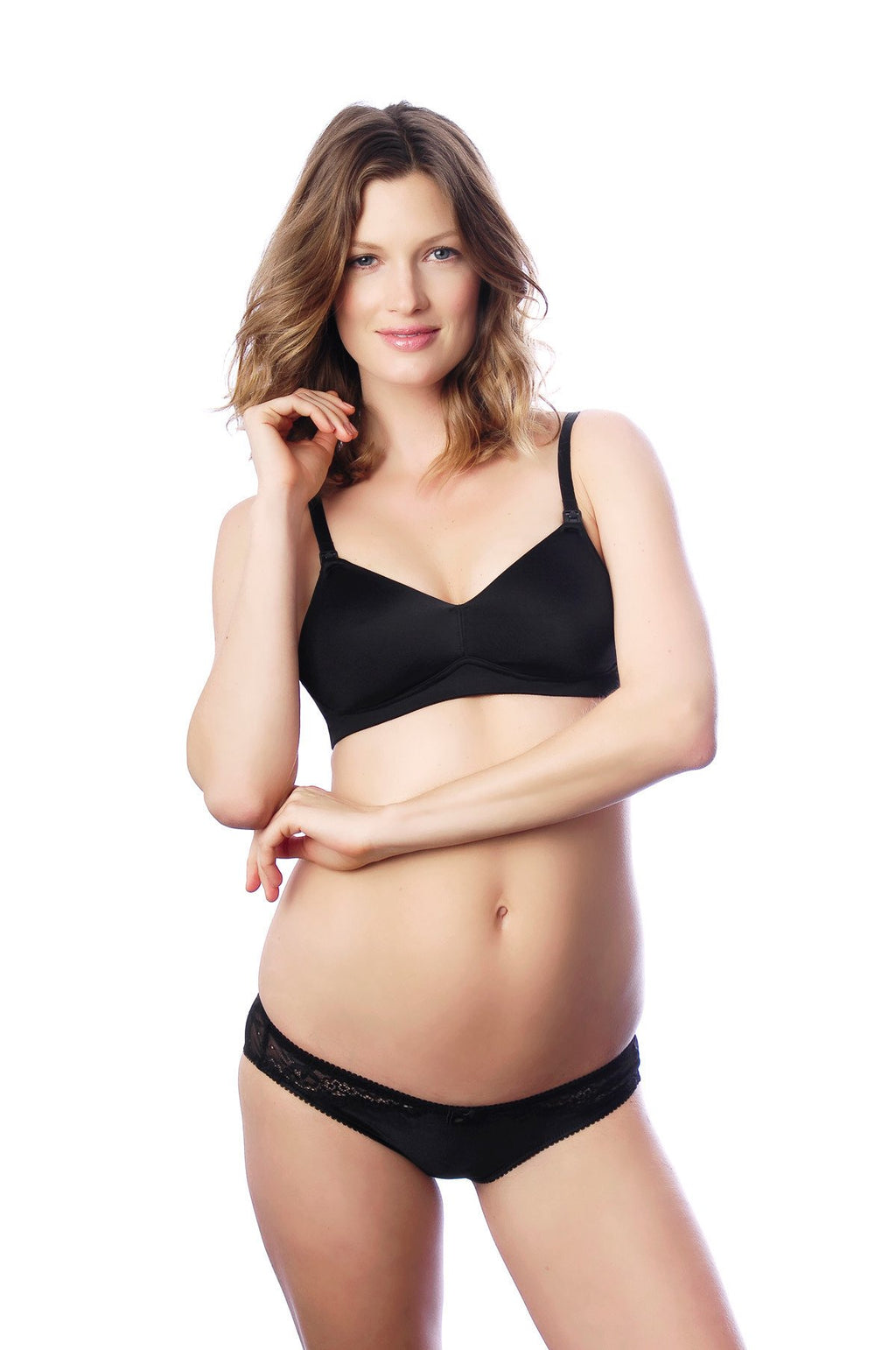 ETERNAL BLACK NURSING BRA