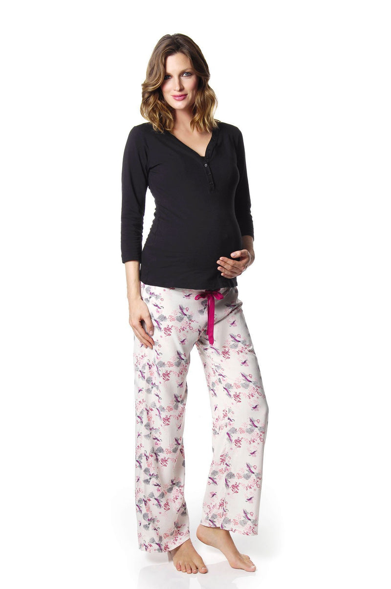 Hotmilk Lingerie Harmony nursing Top and PJ pant