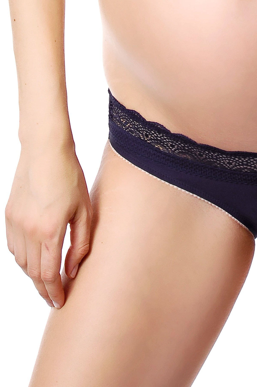 Hotmilk Lingerie Show Off navy brief