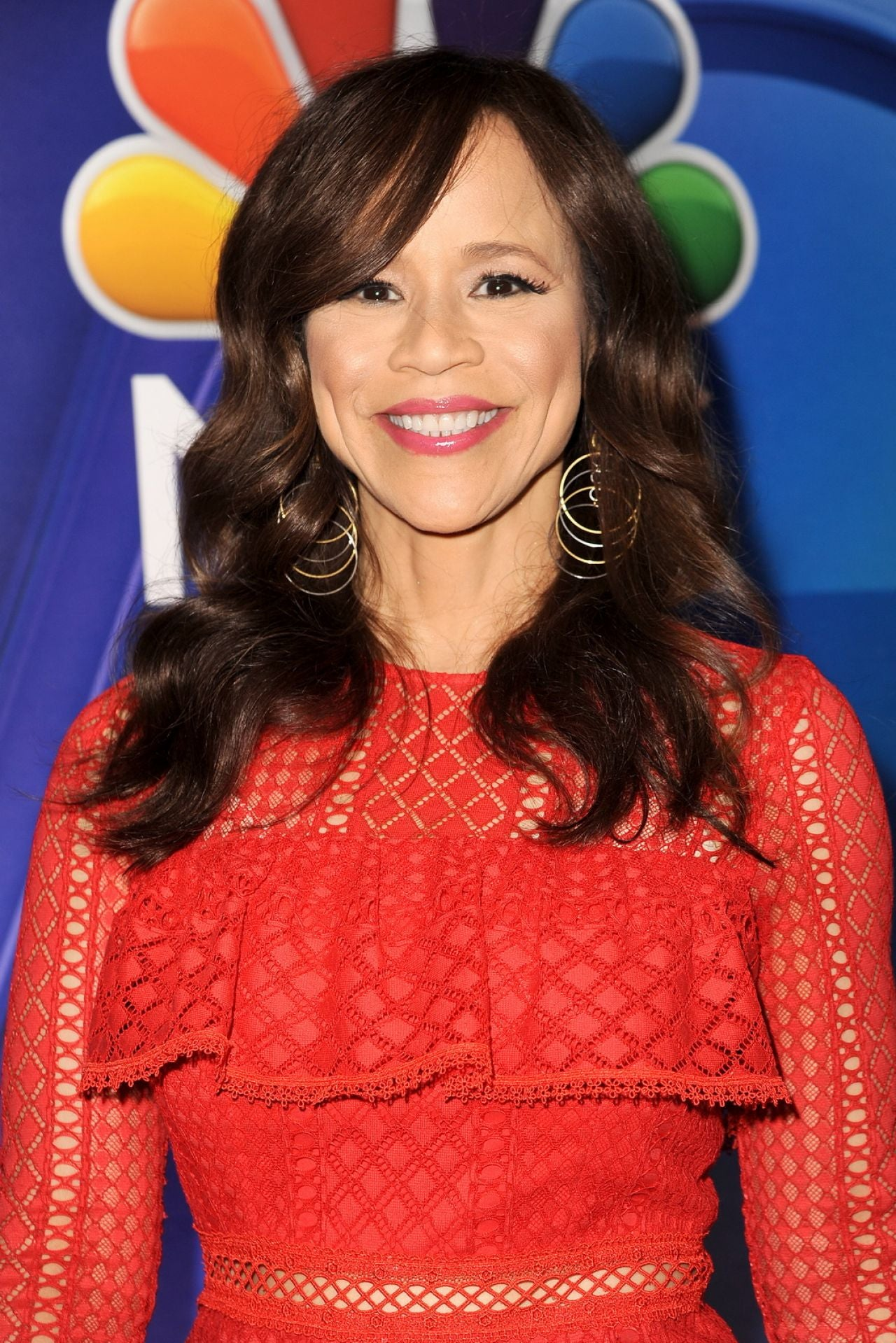 Rosie Perez NBC Mid-Season Press Day in New York