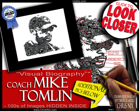 """Coach Mike Tomlin"""